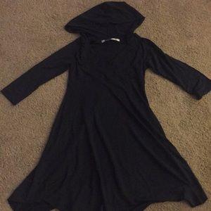 3/4 sleeve dress/swim coverup